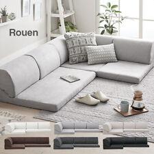 Corner low sofa set, kotatsu sofa, stylish sofa bed 221×71×35cm from Japan