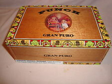 PUNCH GRAN PURO SANTA RITA  WOOD CIGAR BOX