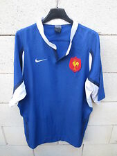 Maillot rugby QUINZE de FRANCE NIKE shirt L manches courtes col rond