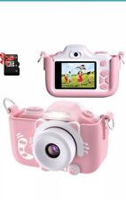 """ShinePick Kids Camera Digital 16MP HD 2.0"""" Screen Selfie Video Camera Silicone C"""