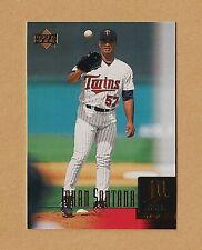 2001 Upper Deck Baseball #11 Johan Santana [Twins] [SR] [NM/MT]
