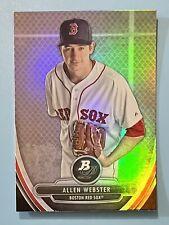 2013 Bowman Platinum Prospects Allen Webster Boston Red Sox #BPP61