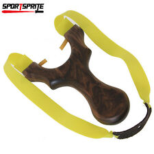 Outdoor Hunting Shooting Slingshot Flat Rubber Band Elastic Catapult Strap