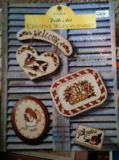 Craft Booklet Folk Art Creative Woodburning