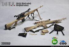 COOMODEL COO US Military M14A1 & M14 Sniper Rifle Set 1/6