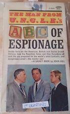 "Vintage Books - The Man From U.N.C.L.E. ""ABC of Espionage"" 1st Printing"