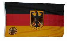 GERMAN FEDERAL BLACK SUN FLAG FLAG 3 X 5 3X5 FEET NEW POLYESTER GERMANY