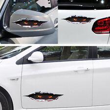 Anger Eye Peeking Leopard Door/Fenders Decor Vinyl Decal big 40*13cm Car Sticker