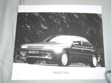 Peugeot 605 Press Photo brochure c1990's v3