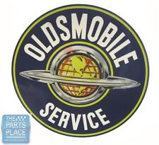 1950's - 1970's Oldsmobile Service Decal - 7""