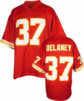 Throwback Unsigned Joe Delaney #37 Football Jerseys Stitched Custom Any Name