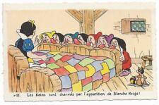 Carte Postale - WALT DISNEY - Edition Superluxe Paris  Blanche Neige  N°11