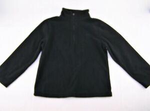 Boys CHAMPION black fleece pullover sweater 4 4T 5 XS sweatshirt shirt athletic