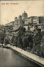 Bern Switzerland Suisse AK 1908 Bundespalast Regierung gelaufen nach Pfedelbach