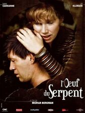Affiche 120x160cm L'OEUF DU SERPENT (THE SERPENT'S EGG) 1977 Ingmar Bergman R