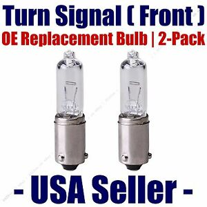 Front Turn Signal/Blinker Light Bulb 2pk Fits Listed Volkswagen Vehicles - H21W