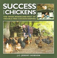 HOBSON POULTRY BOOK SUCCESS WITH CHICKENS TROUBLE FREE KEEPING bargain new