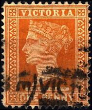 VICTORIA AUSTRALIA - 1890-1899 - Regina Vittoria