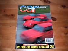 CAR MAGAZINE FEB-1992 - Lotus Elan, Lancia Integrale, Porsche 911 Carrera 4
