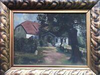 Impressionist - Old Farmhouse in Pommern - Stettin - Baltic Sea Close