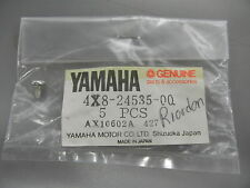 NOS Yamaha Screw 1981-1993 IT250 IT465 IT490 XT125 XT200 4X8-24535-00 QTY4