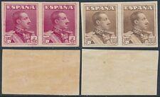 España - Correo- Año: 1922 - numero 00322s/23s - * Alfonso XIII / Vaquer Precios