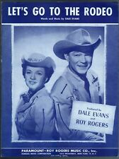 Let's Go To The Rodeo 1961 Roy Rogers and Dale Evans
