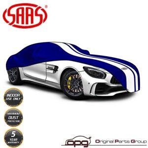 SAAS Indoor Sports Garage Car Cover Non Scratch for MClaren 720S Blue
