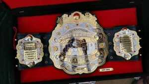 IWGP V4 Heavyweight Brand New Championship Belt