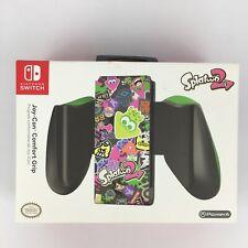 PowerA Official Nintendo Switch Splatoon 2 Joy-Con Comfort Grip Controller Dock