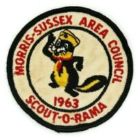 Vintage 1963 Scout-O-Rama Skunk Morris-Sussex Area Council Patch New Jersey