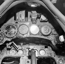 WW2 Photo WWII Captured German Luftwaffe Fw 190 Cockpit  World War Two / 6131