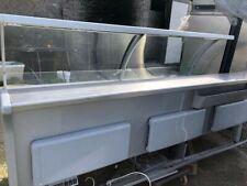 Banco frigo con cella dimensioni 260x118x125H, in buoni condizioni