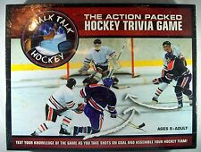 NEW SEALED Chalk Talk Hockey Trivia Board Game