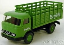"""Wiking NEW HO 1/87 scale 60/70's era 2-axle Mercedes Benz delivery truck """"BayWa"""""""