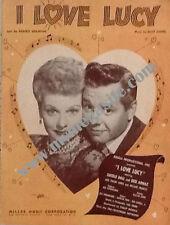 """I LOVE LUCY"" Sheet Music"