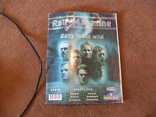 2005 WRC Uddeholm Swedish Rally Official Magazine Programme