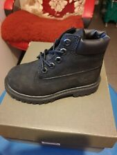 Timberland unisex youth black Classic Ankle Boots Size uk 13