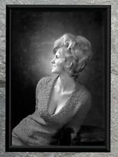 Vintage Photo Female Portrait Blonde Cleavage 1950's Vintage Photo Reprint 8x10