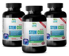 Stem Cell SE Organic Blue Green Algae 500mg From Klamath Lake (3 Bottles)