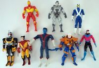 Marvel Iron Man X-Men Action Figure Lot Of (8) Wolverine Cyclops