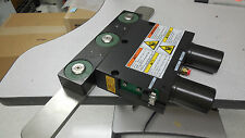 0520-00037 (or 0520-00068) ACTR PNEU DBL LOCK 37X435 OPEN ANODIZED, SLIT VAL, 07