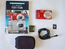 Panasonic Lumix DMC-TZ25 Full HD 12MP Digitalkamera Fotoapparat Camera Camcorder