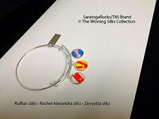 Winning Silks™ bracelet - Ruffian - Rachel - Zenyatta + FREE Horse charm