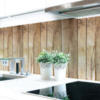 Küchenrückwand Bretterwand Hütte Premium Hart-PVC 0,4 mm selbstklebend