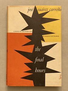 ALVIN LUSTIG dust jacket, typography, binding & design Final Hours Carreno 1953