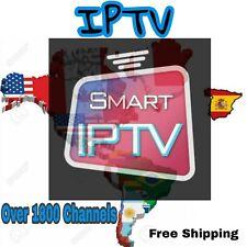 IPTV SmartTV 1 month Subscription Over 8500+ MEXICO SPAIN BRASIL AMERICA USA