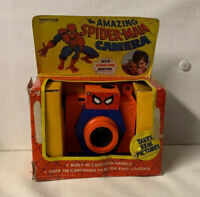 Vintage Spiderman Real Film Camera 1977 Vanity Fair RARE