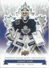 Grant Fuhr #26 - 2017 Toronto Maple Leafs Centennial - Base