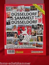 Panini Düsseldorf sammelt Düsseldorf Album Leeralbum